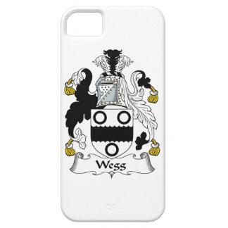 Escudo de la familia de Wegg iPhone 5 Carcasas
