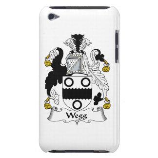 Escudo de la familia de Wegg iPod Touch Protectores