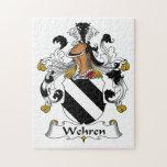 Escudo de la familia de Wehren Puzzles