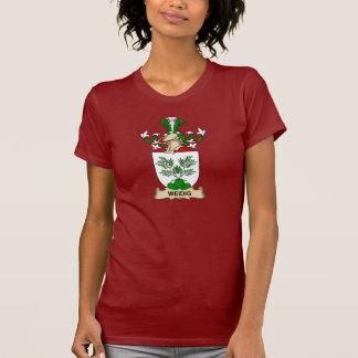 Escudo de la familia de Weidig Camisetas