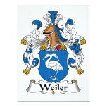 Escudo de la familia de Weiler Comunicados Personales