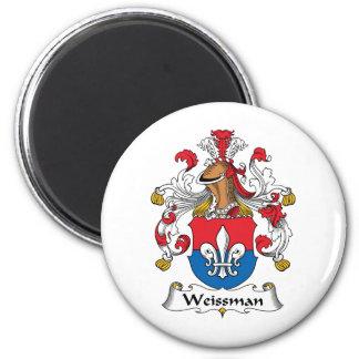 Escudo de la familia de Weissmann Imán Redondo 5 Cm