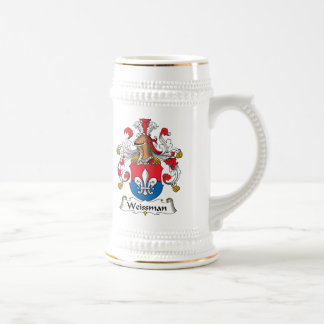 Escudo de la familia de Weissmann Jarra De Cerveza
