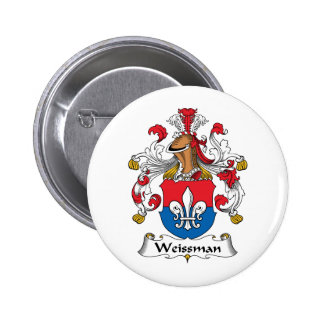 Escudo de la familia de Weissmann Pin Redondo 5 Cm