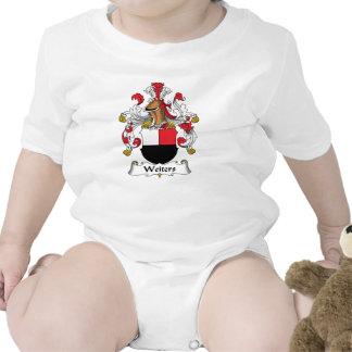 Escudo de la familia de Weiters Camiseta