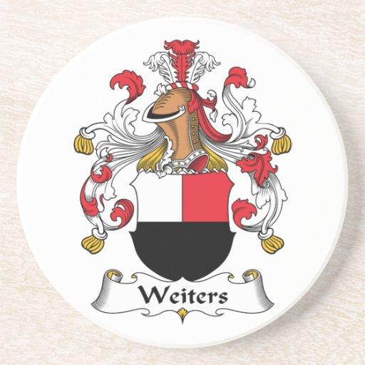 Escudo de la familia de Weiters Posavaso Para Bebida