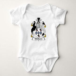 Escudo de la familia de Welburn Camisas