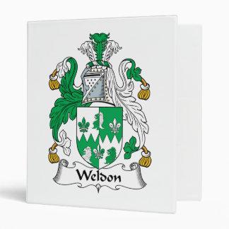 """Escudo de la familia de Weldon Carpeta 1"""""""