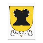 Escudo de la familia de Wellenberg Lienzo Envuelto Para Galerias