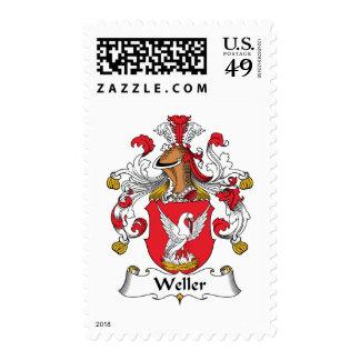 Escudo de la familia de Weller Envio