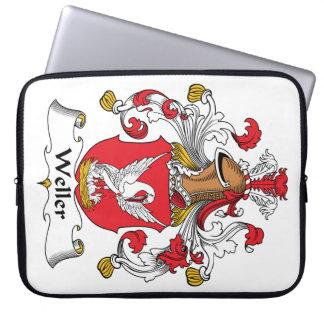 Escudo de la familia de Weller Funda Portátil