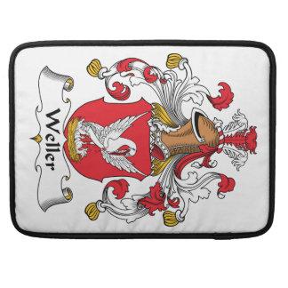 Escudo de la familia de Weller Fundas Macbook Pro