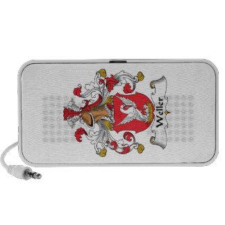 Escudo de la familia de Weller iPod Altavoz