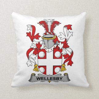 Escudo de la familia de Wellesby Almohada