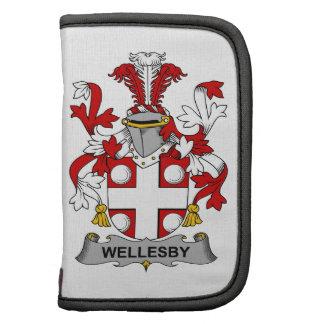 Escudo de la familia de Wellesby Planificadores