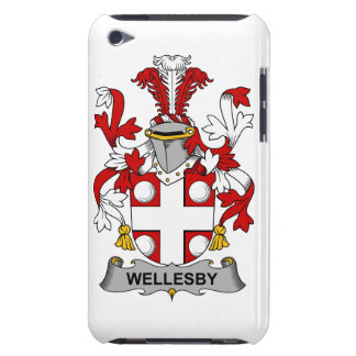 Escudo de la familia de Wellesby iPod Touch Coberturas