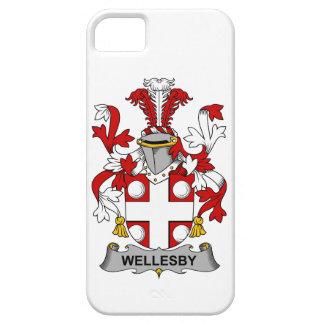 Escudo de la familia de Wellesby iPhone 5 Carcasas