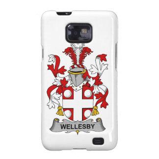 Escudo de la familia de Wellesby Galaxy SII Carcasa