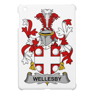 Escudo de la familia de Wellesby iPad Mini Cárcasas