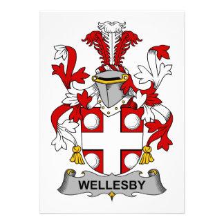 Escudo de la familia de Wellesby Comunicados Personales