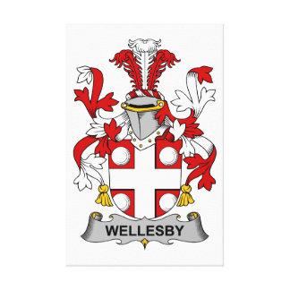 Escudo de la familia de Wellesby Impresiones En Lienzo Estiradas
