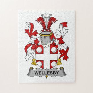 Escudo de la familia de Wellesby Puzzles Con Fotos