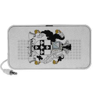 Escudo de la familia de Wellesley iPod Altavoces