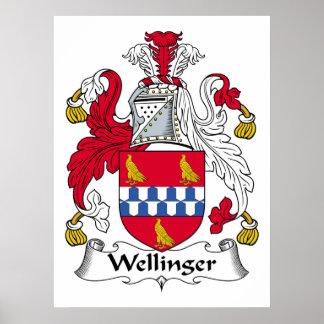 Escudo de la familia de Wellinger Impresiones