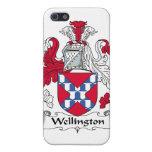 Escudo de la familia de Wellington iPhone 5 Coberturas