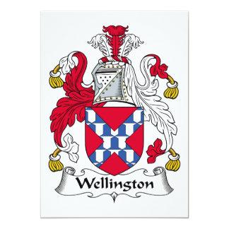 Escudo de la familia de Wellington Invitación