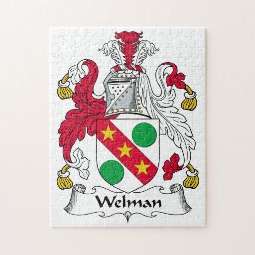 Escudo de la familia de Welman Rompecabezas