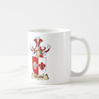 Escudo de la familia de Welser Taza De Café