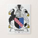 Escudo de la familia de Welston Rompecabeza