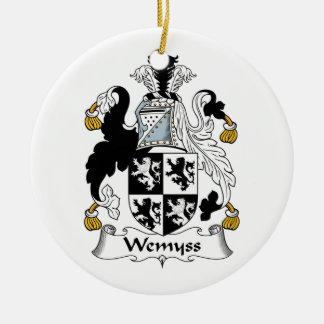 Escudo de la familia de Wemyss Adorno Para Reyes