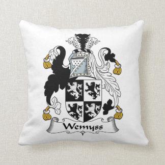 Escudo de la familia de Wemyss Almohada