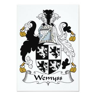 Escudo de la familia de Wemyss Comunicado Personal