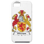 Escudo de la familia de Wemyss iPhone 5 Case-Mate Carcasa