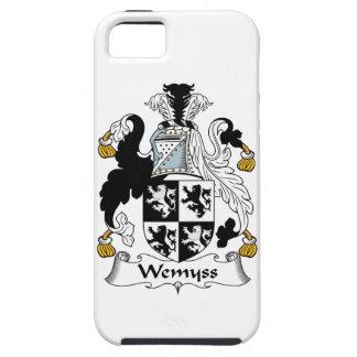 Escudo de la familia de Wemyss iPhone 5 Case-Mate Cobertura