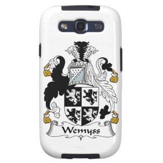 Escudo de la familia de Wemyss Galaxy S3 Carcasa