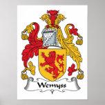 Escudo de la familia de Wemyss Impresiones