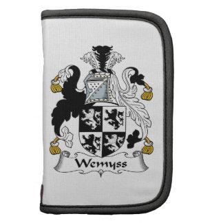 Escudo de la familia de Wemyss Planificadores