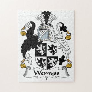 Escudo de la familia de Wemyss Puzzles Con Fotos