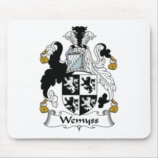Escudo de la familia de Wemyss Tapete De Ratón