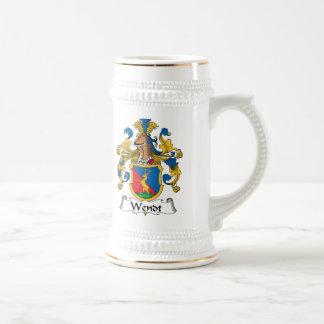 Escudo de la familia de Wendt Jarra De Cerveza