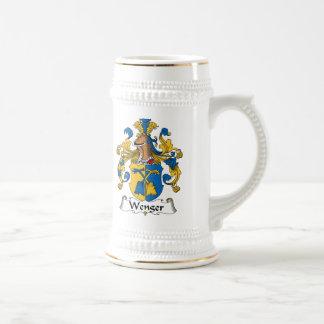 Escudo de la familia de Wenger Jarra De Cerveza