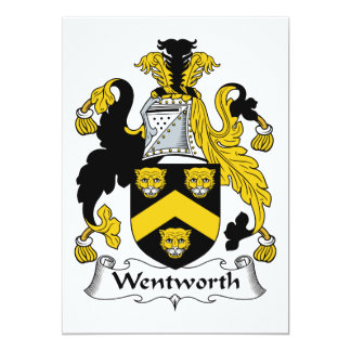 Escudo de la familia de Wentworth Comunicado Personal