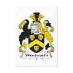 Escudo de la familia de Wentworth Impresiones En Lona