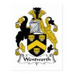 Escudo de la familia de Wentworth Postal