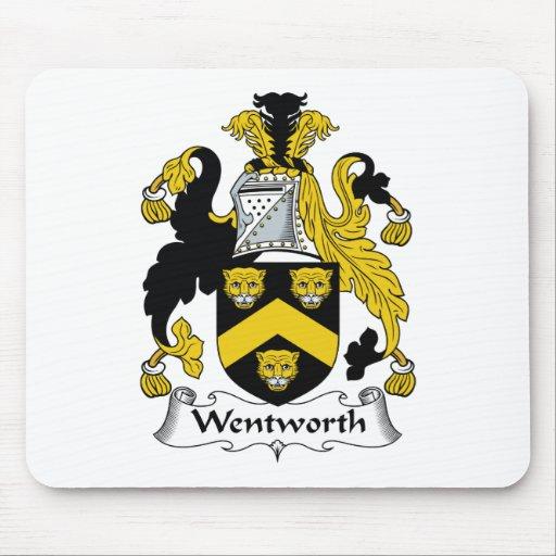 Escudo de la familia de Wentworth Alfombrillas De Raton