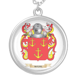 Escudo de la familia de Werl (escudo de armas) Pendiente Personalizado